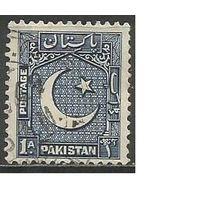 Пакистан. Национальный герб. 1948г. Mi#27.
