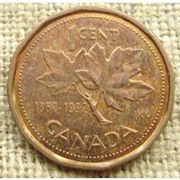 1 цент 1992 Канада