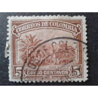 Колумбия 1932 кофейная плантация