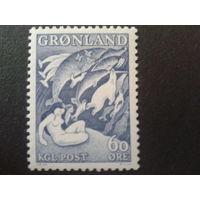 Гренландия 1957 Гренландская сказка, одиночка Mi-3,0 евро