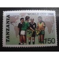 Танзания 1986 футбол