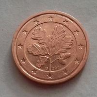 2 евроцента, Германия 2007 G , AU
