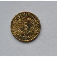 Германия 5 пфеннингов 1936 г.