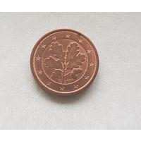 1 евроцент 2004 Германия D