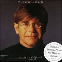 Elton John - Made In England-1995,CD, Album,Made in France.