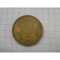 Непал 2 рупии 1994г.km1074.1