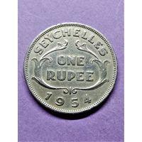 Сейшелы 1 рупия 1954