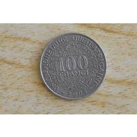 Западная Африка(ВСЕАО) 100 франков 2004