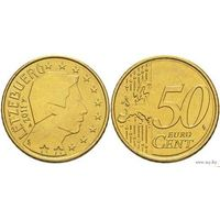 50 евроцентов 2011 Люксембург UNC из ролла