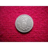 Багамские острова (Багамы) 5 центов 1987 г.