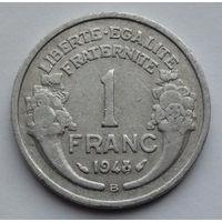 Франция 1 франк. 1948. В