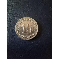 10 пфеннигов 1914  D