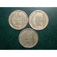 Перу 1 новый соль цена за монету (список)