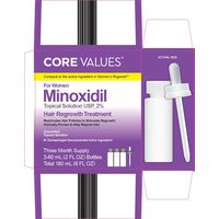 Миноксидил minoxidil 2 % core values для женщин