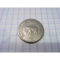 Либерия 5 центов 1961