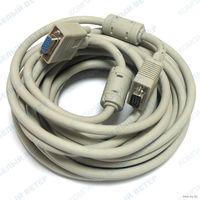 Удлинитель видео кабель Gembird CC-PPVGA-6 (VGA HD15M/HD15F)