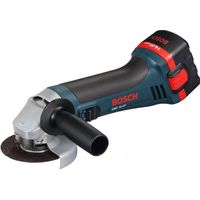 Болгарка Bosch GWS 14.4 V , оригинал , аккумуляторная,  новая, серийный номер 0601934h20 . Вес 2,1кг, обороты-12500, диаметр круга 100 мм. Резьба шпинделя M14 , система SDS-pro, страна производства –