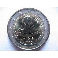 Словакия 2 евро 2009г. 20 лет Бархатной Революции. (юбилейная) UNC!