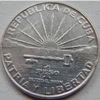 35. Куба 1 песо 1953 год*