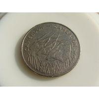 Камерун.  100 франков 1975 год   KM#17