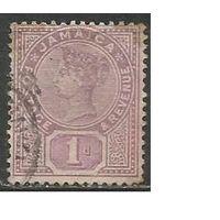 Ямайка. Королева Виктория. 1889г. Mi#23.