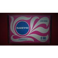АУДИОКАССЕТА SANYO 1972-74 год выпуска EUR, РЕДКАЯ, ВОЗМОЖЕН ОБМЕН на другие аудиокассеты.