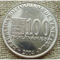 100 боливаров 2004 Венесуэла