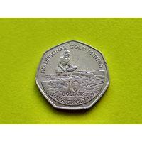 Гайана. 10 долларов 1996.