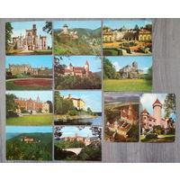 Набор почтовых карточек достопримечательности (2)