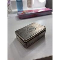 Шкатулка из серебра 925 пробы, Англия. 297 грамм серебра. 1821 год