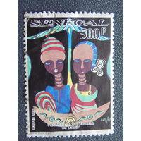 Сенегал 1990г. Культура.