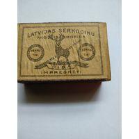 Филумения.Спички.Спичечный коробок-LATVIJAS SERKOCINU AKCIJU SABIEDRIBA.1920-ые г.