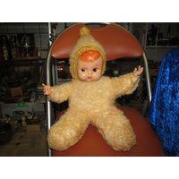 Старенькая кукла, 54 см. с рубля!