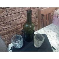 Немецкая бутылка со стаканчиками с ПМВ
