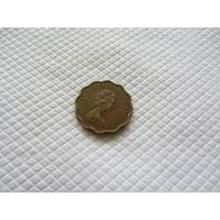 20 центов 1978 г., Гонконг.