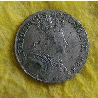 6 грошей 1756 г Нечастая