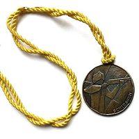 Бронзовая медаль За успешное участие в соревнованиях по стрельбе  д- 4.5 см