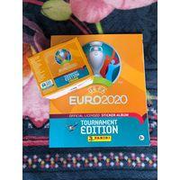 PANINI Чемпионат Европы 2020 альбом + блок!