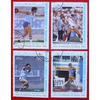 Мавритания. Спорт. ( 4 марки ) 1988 года.