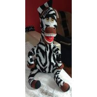Зебра-Марти из Мадагаскара 96 см.
