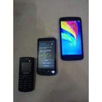Мобильные телефоны, под реставрацию. Старт с 2-х рублей без м.ц. Смотрите другие лоты,много интересного.
