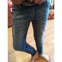 Брюки джинс на девочку 8 лет