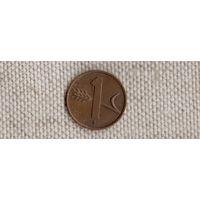 Швейцария 1 раппен 1953/(Uss)