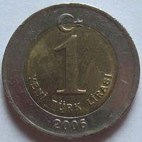 Турция, 1 лира 2006 г