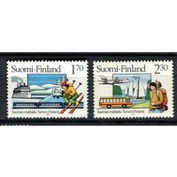 Финляндия - 1987 - Туризм - [Mi. 1011-1012] - полная серия - 2 марки. MNH.
