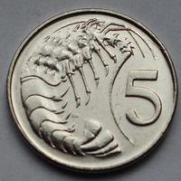 Каймановы острова, 5 центов 2008 г