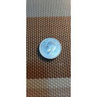 Канада 25 центов 1942