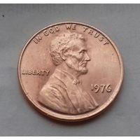 1 цент США 1976, 1976 D