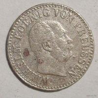 1/2 грошена, Пруссия, 1867 год.