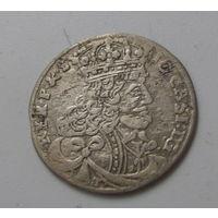 6 грошей 1657 с именем Яна Казимира шведская оккупация Кракова.Редкие.
